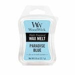 CLOSEOUT-Paradise Blue WoodWick 0.8 oz. Mini Hourglass Wax Melt | Discontinued & Seasonal WoodWick Items!