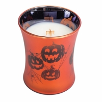 CLOSEOUT - Pumpkin Butter Dancing Hourglass WoodWick Candle