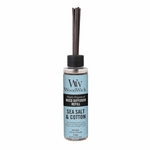 Sea Salt & Cotton WoodWick 4 oz. Reed Diffuser REFILL | WoodWick 4 oz. Reed Diffuser REFILLS