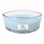 Sea Salt & Cotton WoodWick Candle 16 oz. HearthWick Flame | HearthWick - Woodwick Fall & Winter 2015