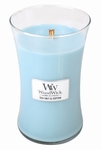 Sea Salt & Cotton WoodWick Candle 22 oz. | Jar Candles - Woodwick Fall & Winter 2015
