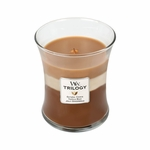 CLOSEOUT-*Spiced Confections WoodWick Trilogy Candle 10 oz. | Discontinued & Seasonal WoodWick Items!