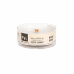 CLOSEOUT - Warm Wool Petite WoodWick Candle | Discontinued & Seasonal WoodWick Items!