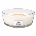 White Tea & Jasmine WoodWick Candle 16 oz. HearthWick Flame | HearthWick - Woodwick Fall & Winter 2015