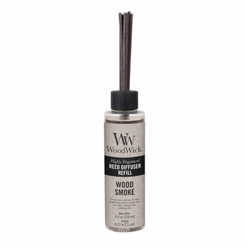 Wood Smoke WoodWick 4 oz. Reed Diffuser REFILL