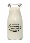 Cranberry Amaretto 8 oz. Milkbottle Candle by Milkhouse Candle Creamery | 8 oz. Milkbottle Candles by Milkhouse Candle Creamery