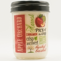 CLOSEOUT - Cranberry Apple Crisp 12 oz. Harvest Jar Swan Creek Candle (Label: Apple Orchard)
