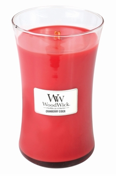 CLOSEOUT - Cranberry Cider WoodWick Candle 22 oz.
