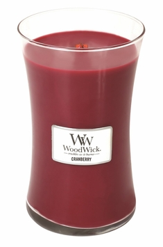 CLOSEOUT - Cranberry WoodWick Candle 22oz.