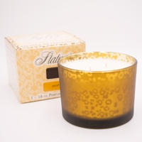 Diva 16 oz. Stature Muted Gold Leopard Tyler Candle Company