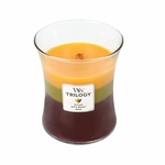 CLOSEOUT-*Fall Traditions WoodWick Trilogy Candle 10 oz. | Discontinued & Seasonal WoodWick Items!