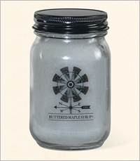 Farmhouse Originals 12 oz. Pint Jar Crossroads Candle