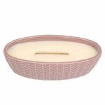 CLOSEOUT - Fireside Wave Medium WoodWick Candle with HearthWick Flame | Discontinued & Seasonal WoodWick Items!