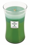 CLOSEOUT - Forest Walk WoodWick Trilogy Candle 22oz | Discontinued & Seasonal WoodWick Items!