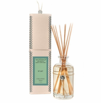 Forgotten Sage Aromatic Reed Diffuser Votivo Candle