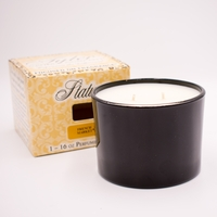 French Market 16 oz. Stature Glossy Black Tyler Candle Company