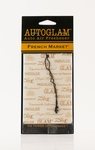 French Market Autoglam Gold on White by Tyler Candle Company | Autoglam Auto Air Freshener by Tyler Candle Company