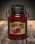 Fresh Apple 26 oz. McCall's Classic Jar Candle | 26 oz. McCall's Classic Jar Candles