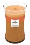 CLOSEOUT-Fresh Baked WoodWick Trilogy Candle 22oz | Discontinued & Seasonal WoodWick Items!