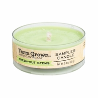 CLOSEOUT - Fresh-Cut Stems 1.4 oz. Sampler Candle Farm Grown Candle