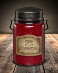 Fresh Strawberries 26 oz. McCall's Classic Jar Candle | 26 oz. McCall's Classic Jar Candles