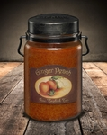 Ginger Peach 26 oz. McCall's Classic Jar Candle | 26 oz. McCall's Classic Jar Candles