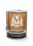 Happy Camper 15 oz. Paint Can MANdle by Eco Candle Co. | MANdle 15 oz. Paint Can Candles by Eco Candle Co.