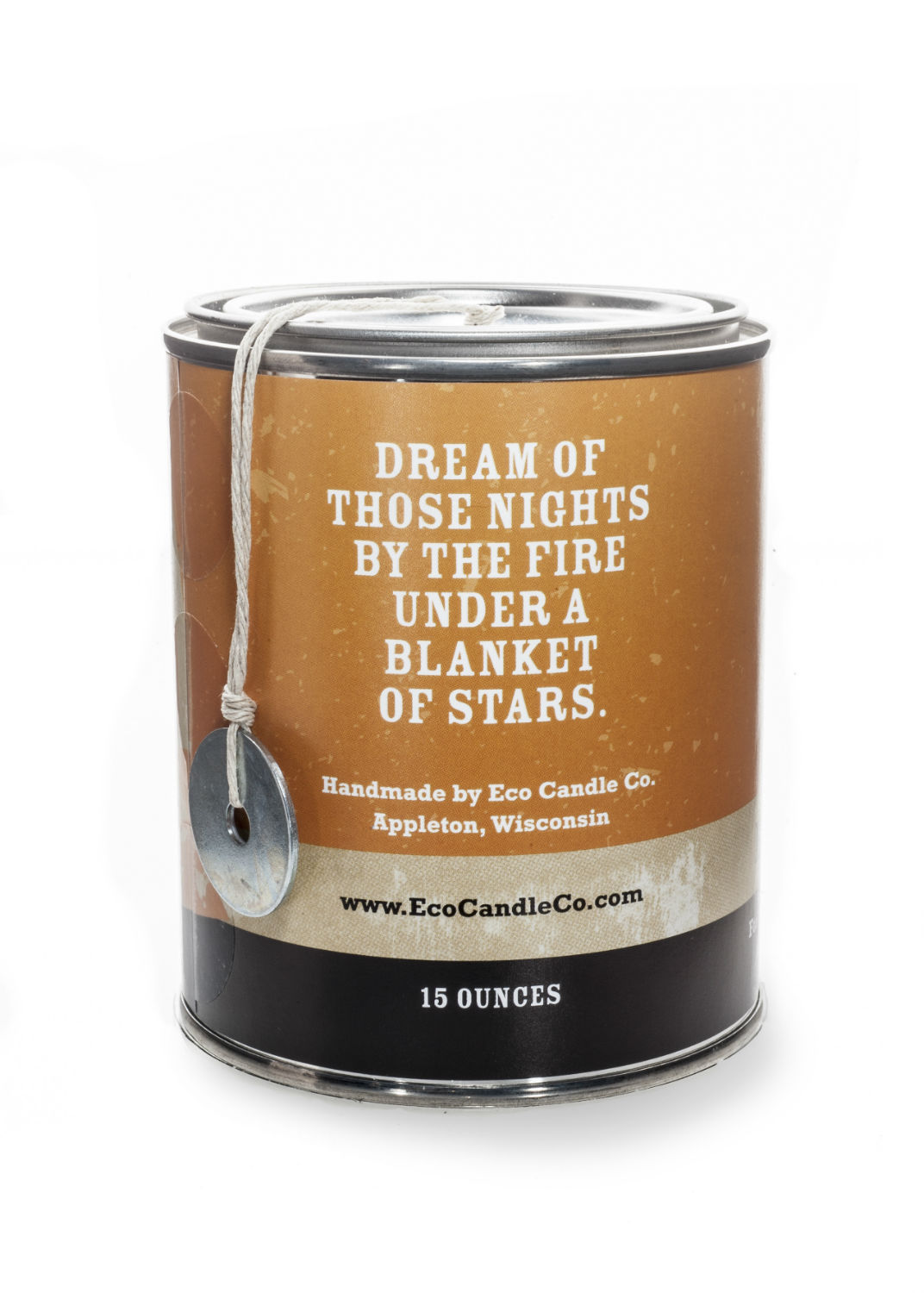 Happy Camper 15 oz. Paint Can MANdle by Eco Candle Co.