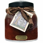 CLOSEOUT - Hearthside Gatherings 34 oz. Papa Jar Keeper's of the Light Candle by A Cheerful Giver | Keeper's of the Light 34 oz. Papa Jar Candles by A Cheerful Giver