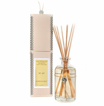 Honeysuckle Aromatic Reed Diffuser Votivo Candle