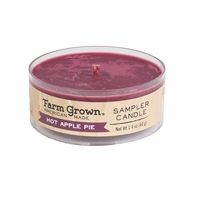 CLOSEOUT - Hot Apple Pie 1.4 oz. Sampler Candle Farm Grown Candle