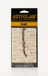 Icon Autoglam Gold on White by Tyler Candle Company | Autoglam Auto Air Freshener by Tyler Candle Company