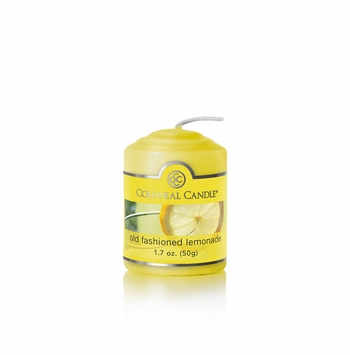 CLOSEOUT - Old Fashioned Lemonade 1.7 oz. Votive Colonial Candle