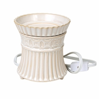 Ivory Wax Melter WoodWick Candle
