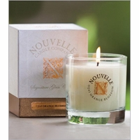 Large Signature Glass Nouvelle Candles