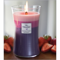 Large WoodWick Trilogy Candles - 22 oz.