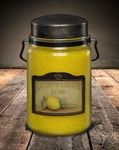 Laura's Lemon Loaf 26 oz. McCall's Classic Jar Candle | 26 oz. McCall's Classic Jar Candles