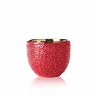 CLOSEOUT - Limited Edition - Cranberry Spice 10 oz. Ceramic Colonial Candle