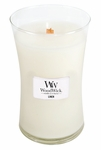 Linen WoodWick Candle 22 oz. | Woodwick Candles 22 oz. Large Jars
