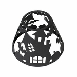 CLOSEOUT-*Medium Haunted House Shade by Virginia Gift Brands | Discontinued & Seasonal WoodWick Items!