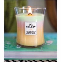 Medium WoodWick Trilogy Candles - 10 oz.