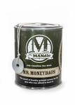 Mr. Moneybags 15 oz. Paint Can MANdle by Eco Candle Co. | MANdle 15 oz. Paint Can Candles by Eco Candle Co.