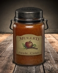 Mulled Apple Cider 26 oz. McCall's Classic Jar Candle | 26 oz. McCall's Classic Jar Candles