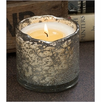 NEW! - 13 oz Artisan Blown Glass Tumbler Candle by Himalayan Candles