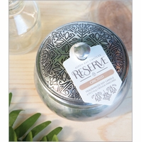 NEW! - 4 oz. Silver Tin Candle by Aspen Bay Candles