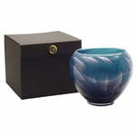 "CLOSEOUT-6"" Midnight Esque Polished Vase Candle 