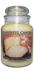 Almond Butter Pound Cake 24 oz. Cheerful Candle by A Cheerful Giver | Cheerful Candle 24 oz. Jars by A Cheerful Giver
