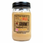 CLOSEOUT - Amaretto Caramel 24oz Swan Creek Kitchen Pantry Jar Candle | 24 oz. Swan Creek Kitchen Pantry Jar Candles