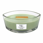Applewood WoodWick Candle 16 oz. HearthWick Flame | HearthWick Ellipse Glass Candles