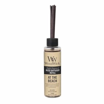At The Beach WoodWick 4 oz. Reed Diffuser REFILL